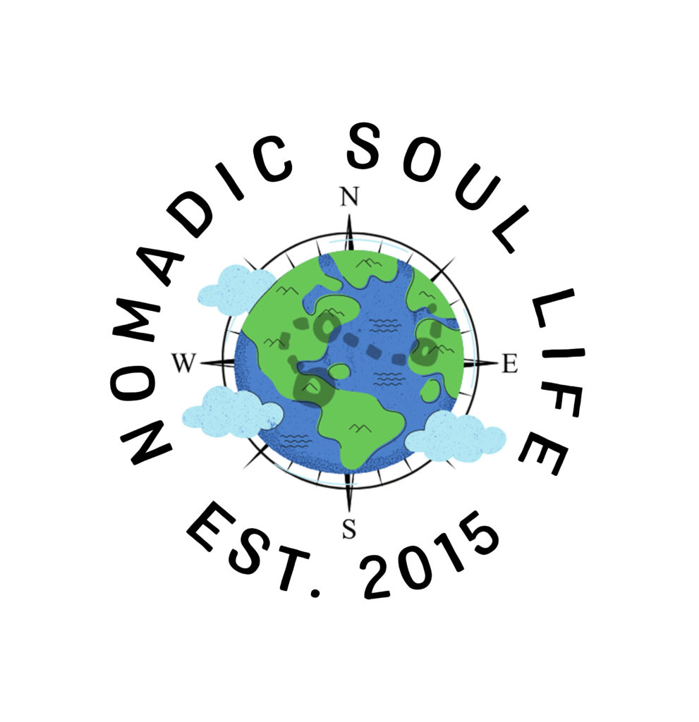 Logo for Nomadic Soul Life 2021